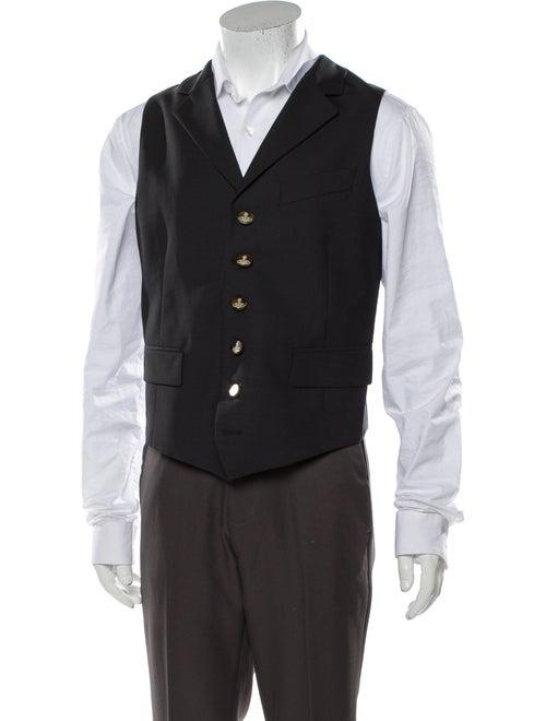Vivienne Westwood Virgin Wool Suit Vest Wool