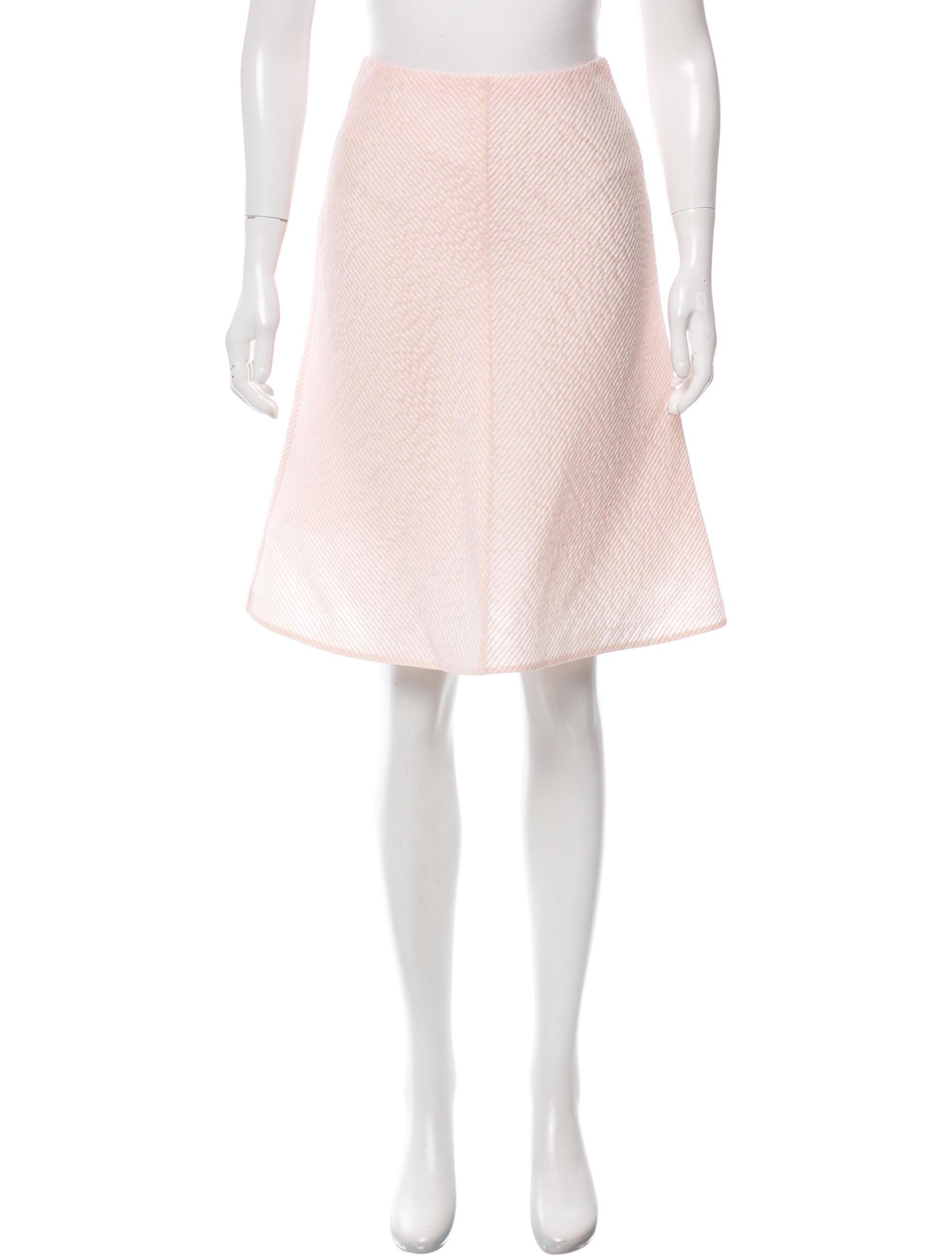 vika gazinskaya silk a line skirt clothing vka20084
