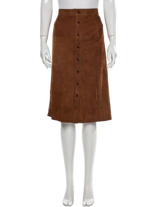 Vanessa Seward Knee-Length Skirt Brown