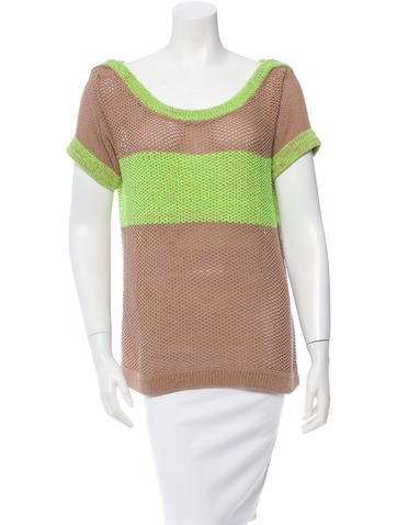 VPL Colorblock Knit Top None