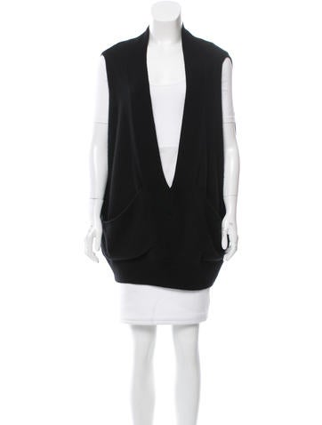 VPL Cashmere V-Neck Vest None