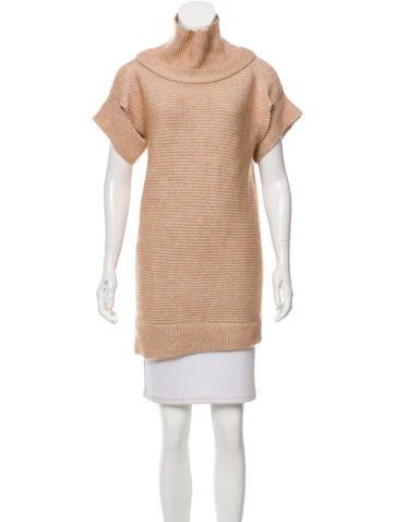 VPL Mohair Blend Short Sleeve Sweater None