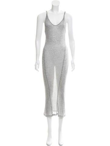 VPL Rib Knit Maxi Dress None