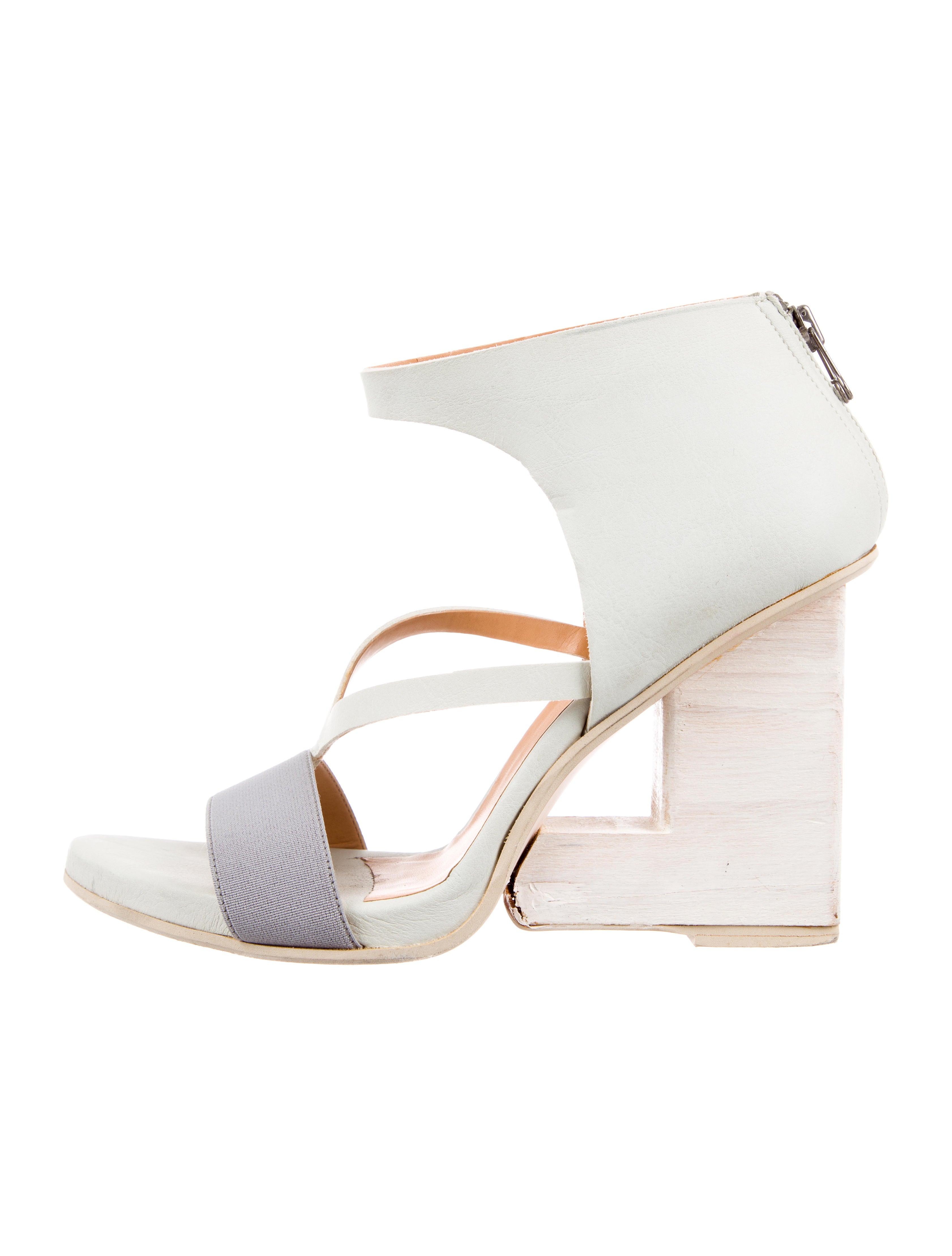 buy cheap great deals VPL Leather Cutout Wedges latest collections sale online cOexLvp