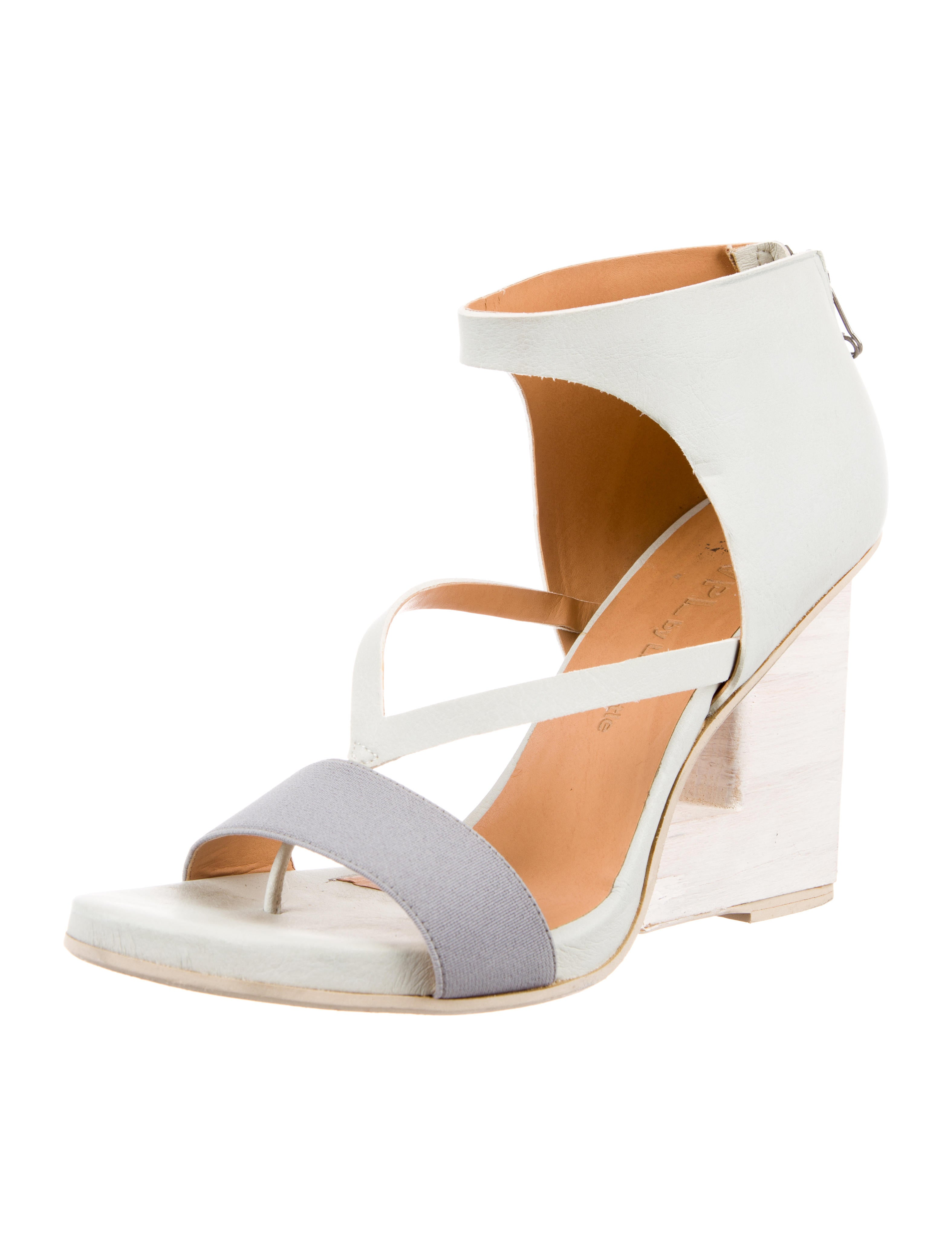VPL Leather Cutout Wedges buy cheap tumblr browse for sale real cheap online clearance store for sale really SRAjIZ