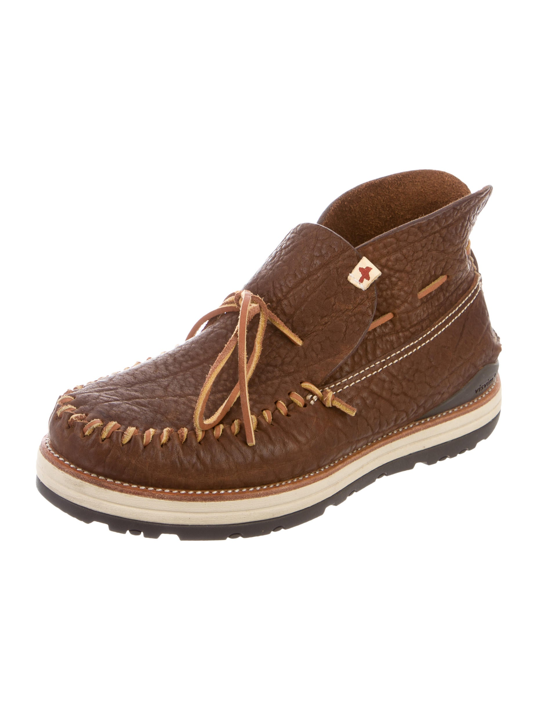 Visvim Leather Boat Shoes Shoes Vsm20230 The Realreal