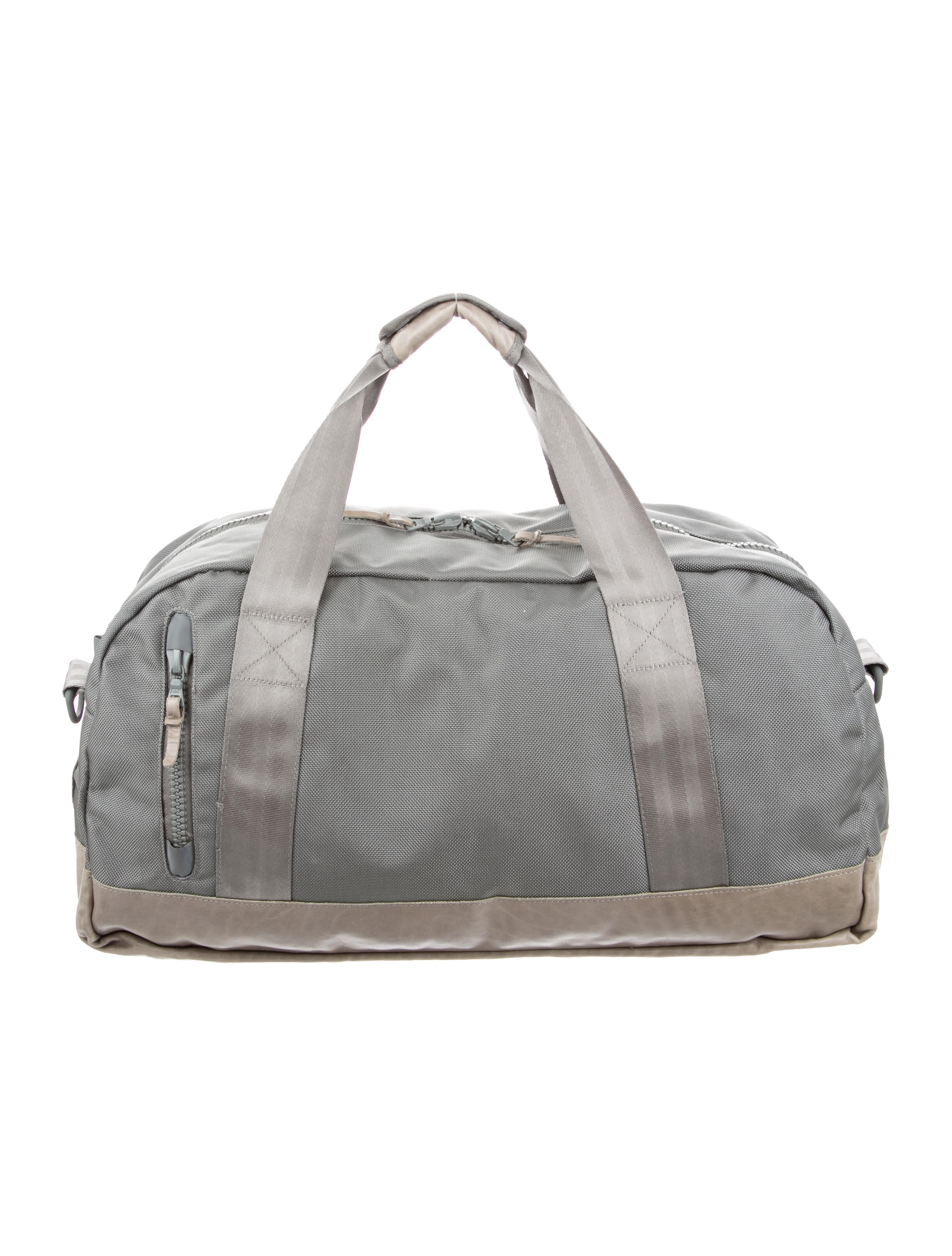 Visvim Leather Trimmed Duffle Bag Bags VSM