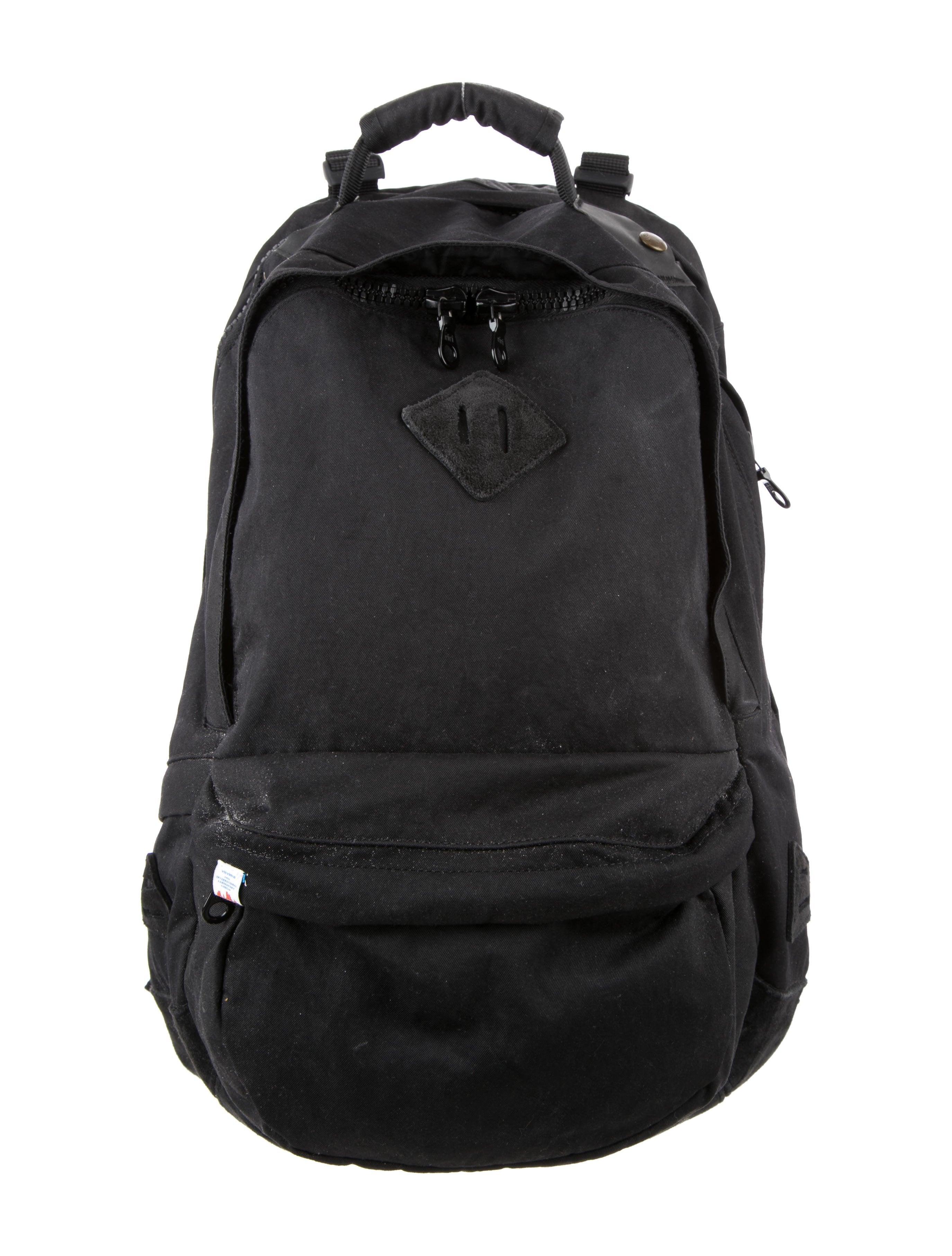 6ef7b7cd85d9 Visvim Suede-Trimmed Canvas Backpack - Bags - VSM20247