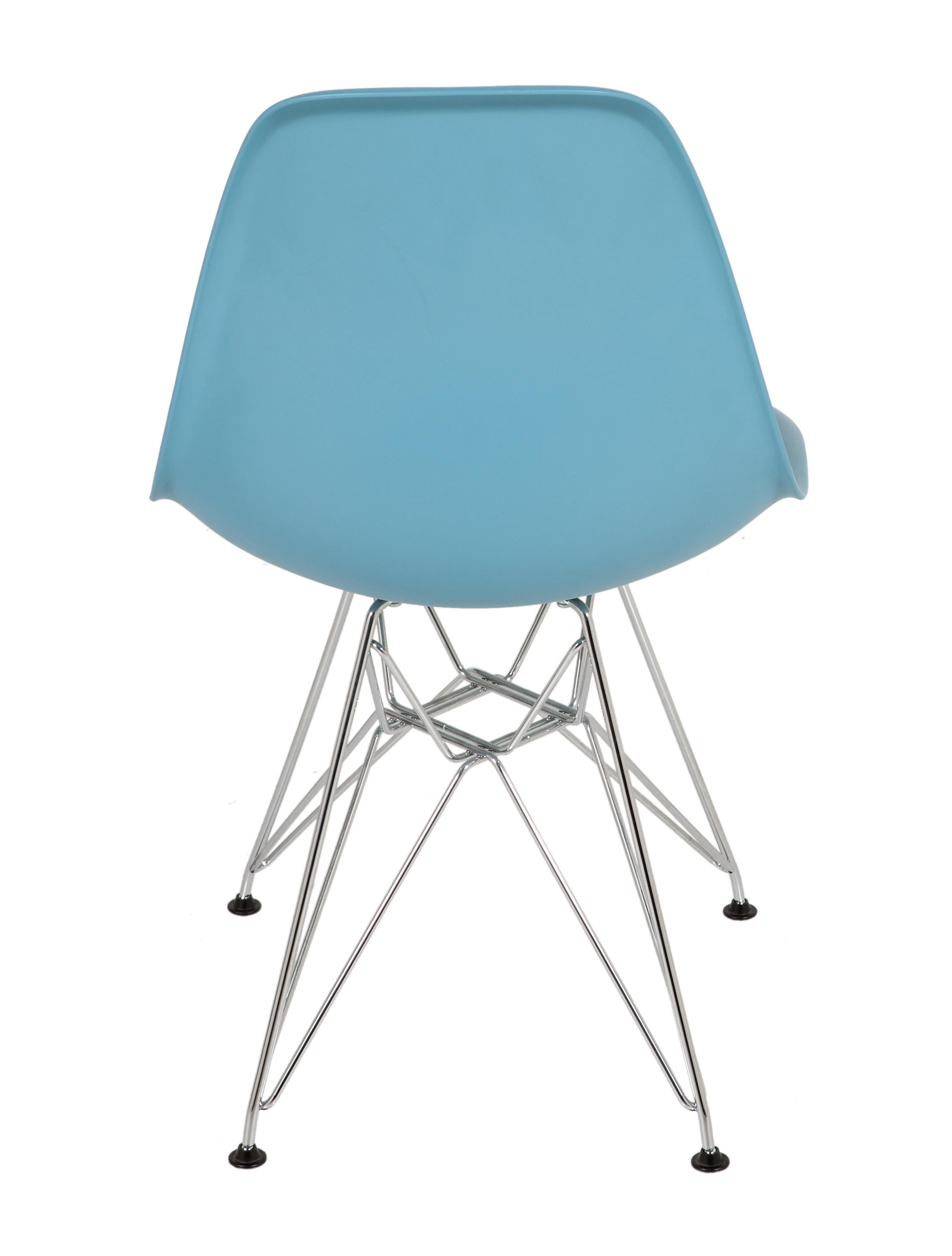 vitra eames molded fiberglass side chair furniture. Black Bedroom Furniture Sets. Home Design Ideas
