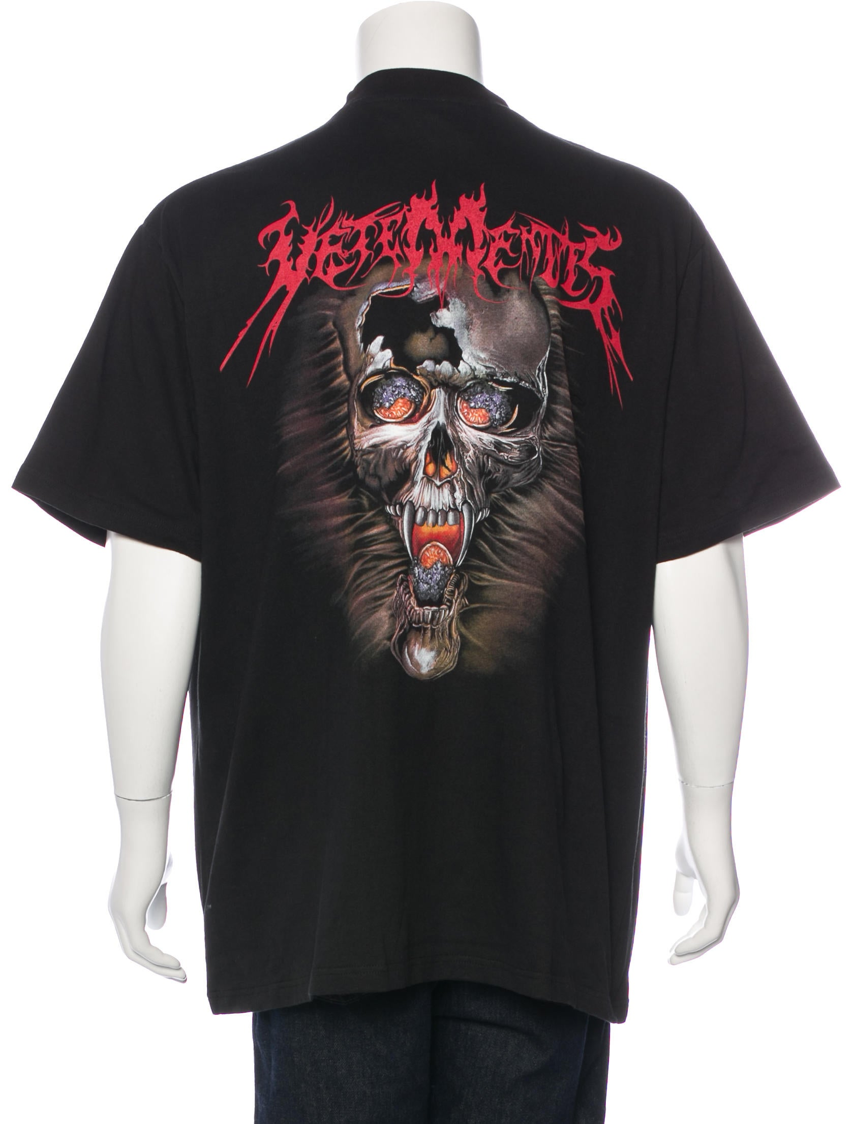 vetements 2016 skull print t shirt w tags clothing. Black Bedroom Furniture Sets. Home Design Ideas