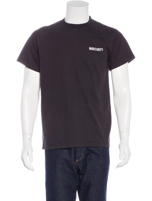 56c80c0fd Vetements 2016 Insecurity Embroidered T-Shirt - Clothing - VTM20138 ...