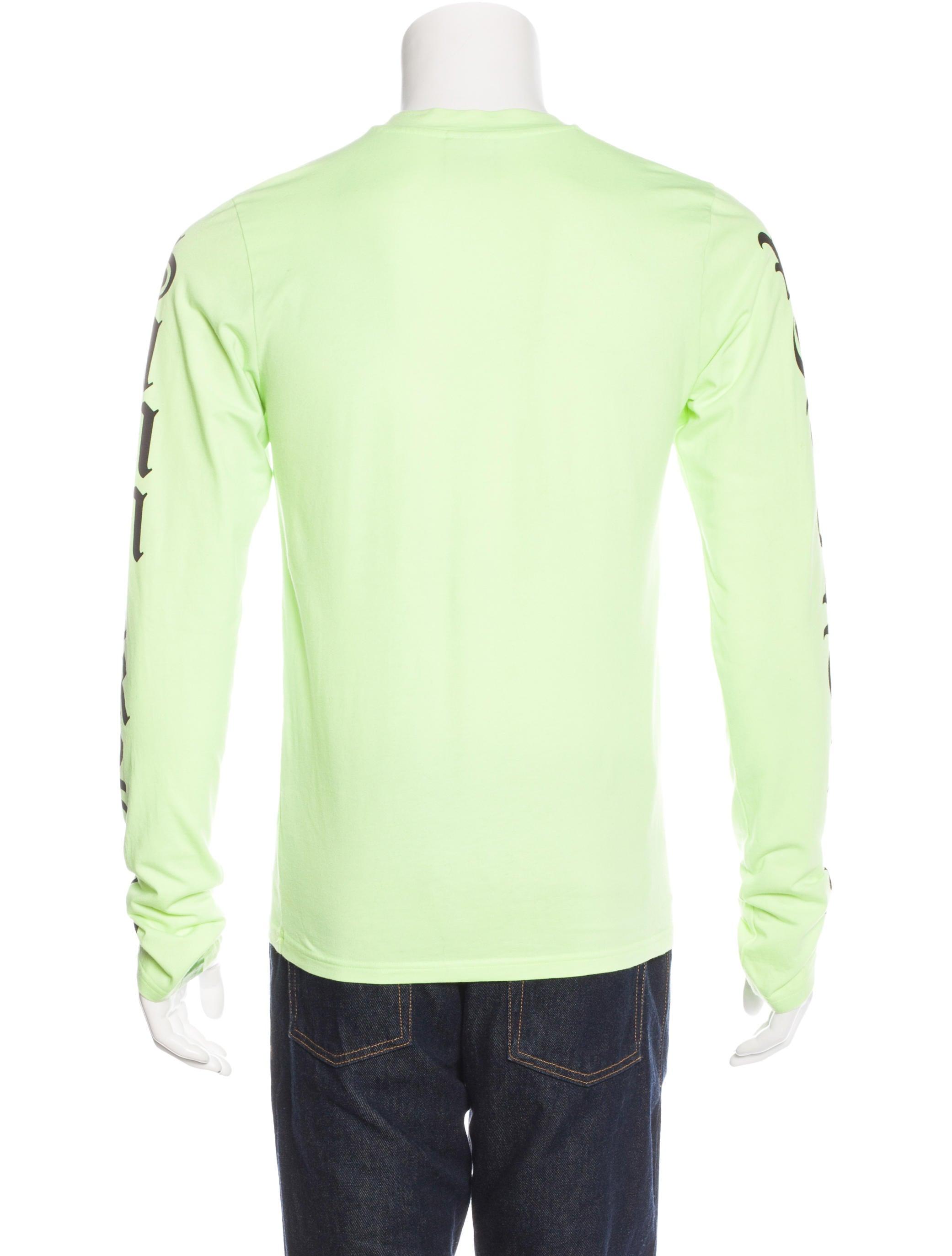 Vetements 2016 Summer Long Sleeve T-Shirt - Clothing - VTM20142 ...