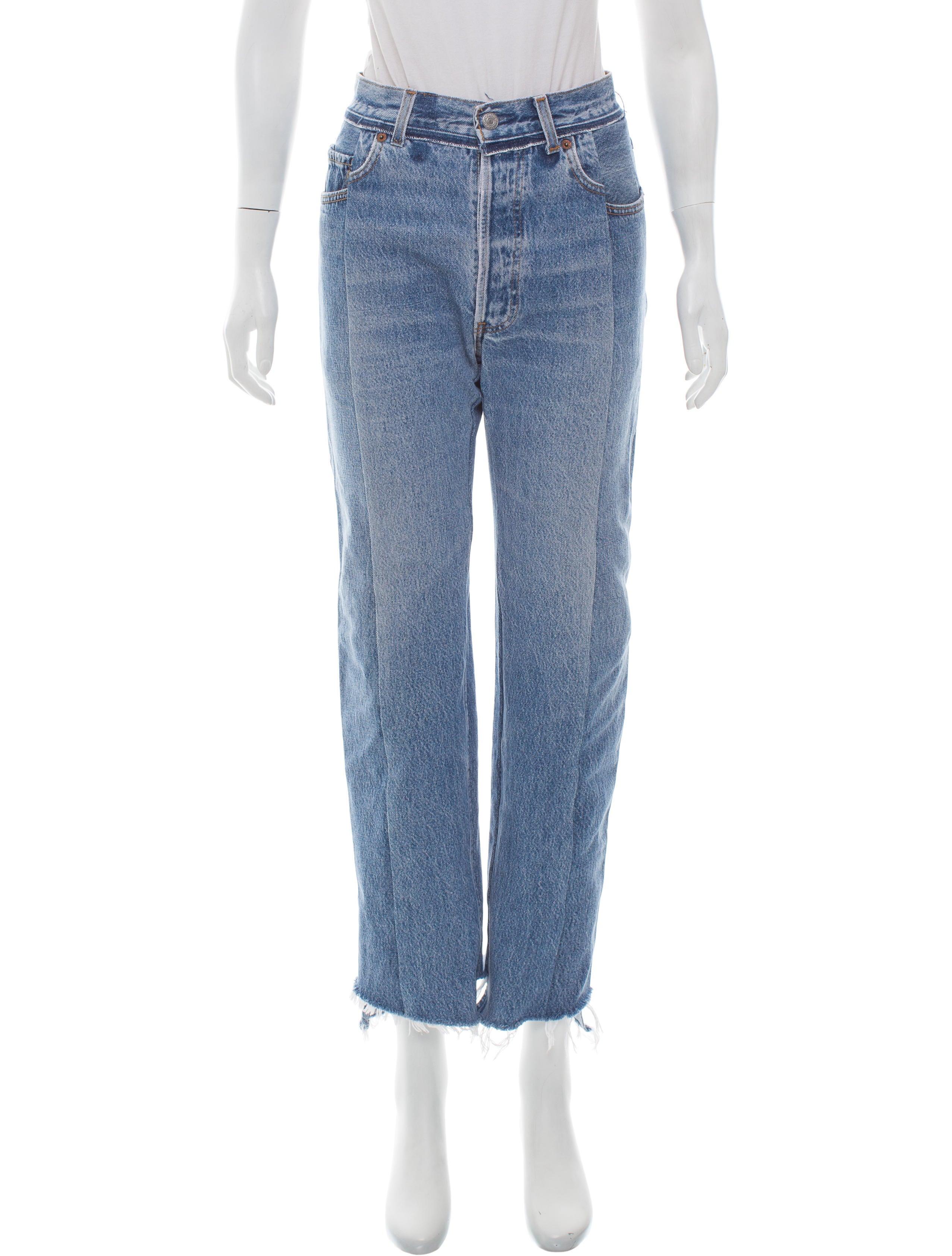 Vetements 2016 Season 1 Mid-Rise Jeans