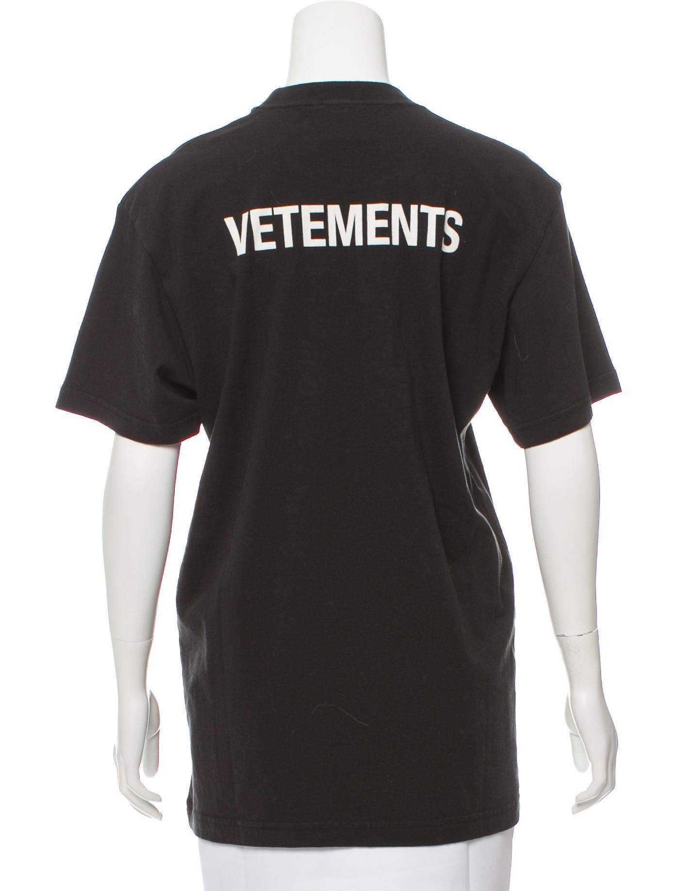 Vetements 2016 staff t shirt w tags clothing vtm20543 for Vetements basic staff t shirt