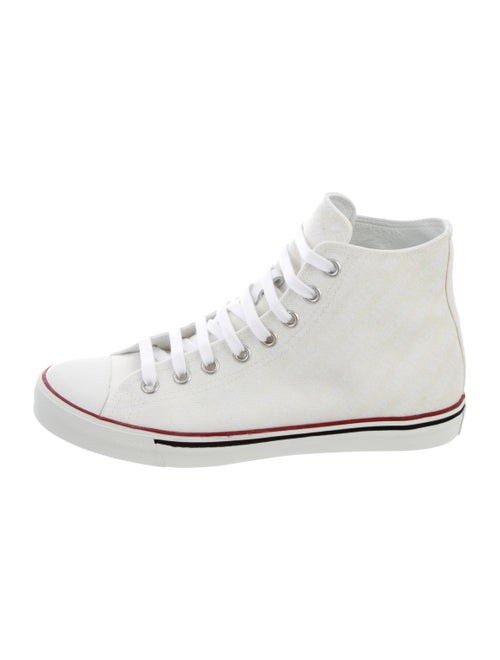 3331a45db6f3 Vetements Canvas Emoji High-Top Sneakers w  Tags - Shoes - VTM21898 ...