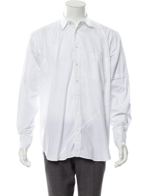 Vetements Oversized Dress Shirt white