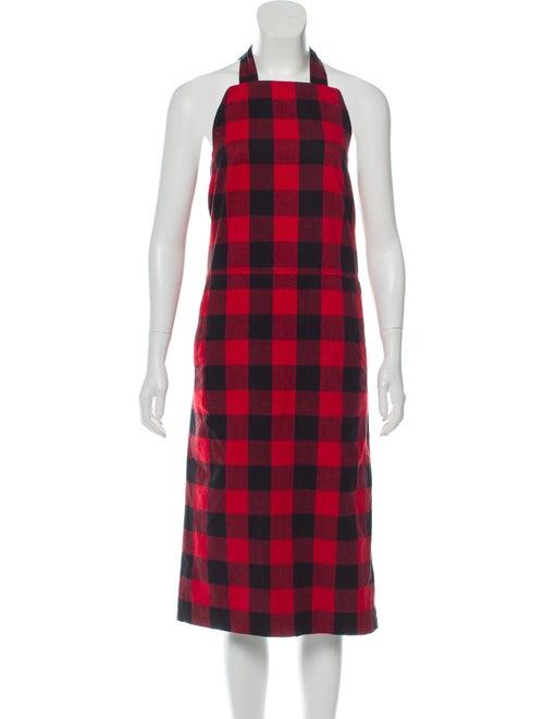 Vetements 2018 Apron Dress w/ Tags Red