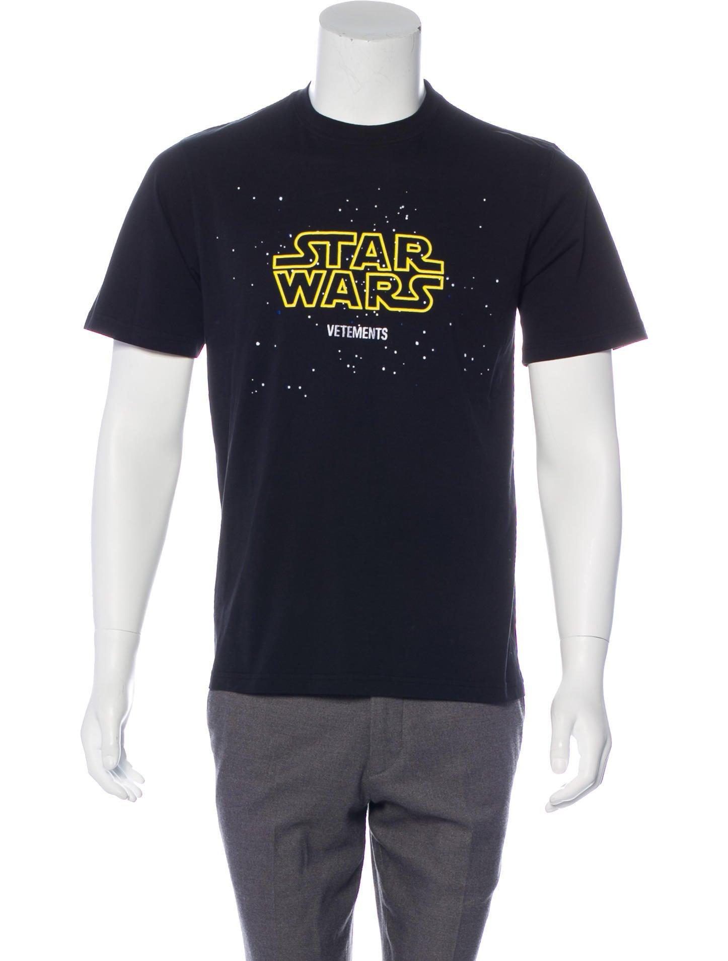 STAR WARS Retro Logo T-Shirt Homme