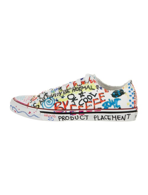 Vetements Printed Sneakers White