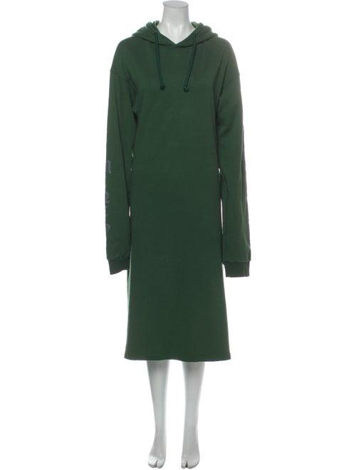 Vetements Crew Neck Sweater Green