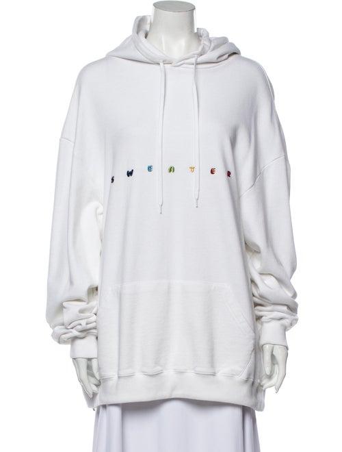 Vetements 2018 Crew Neck Sweatshirt White