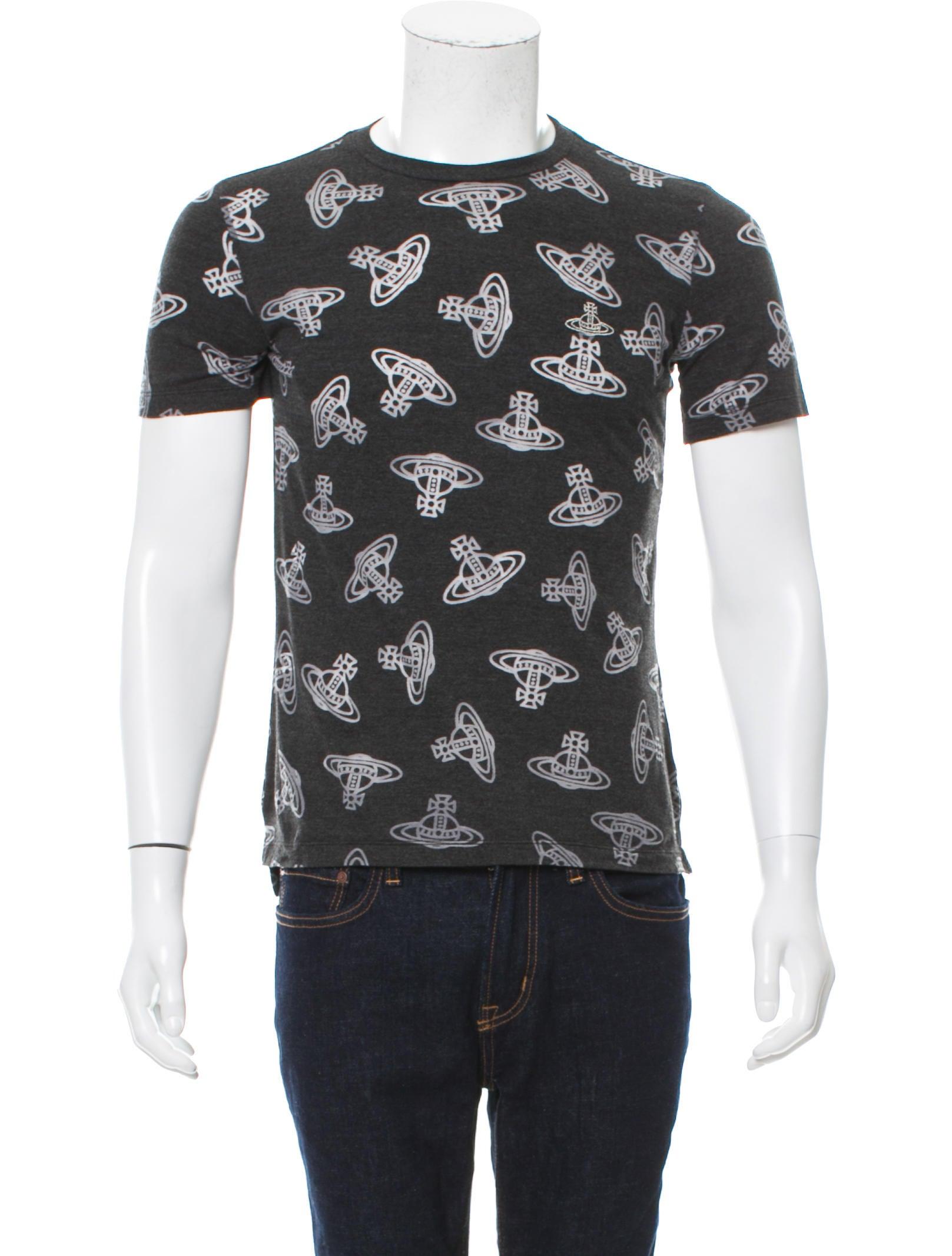 Vivienne westwood anglomania time machine print t shirt w for Machine to print t shirts