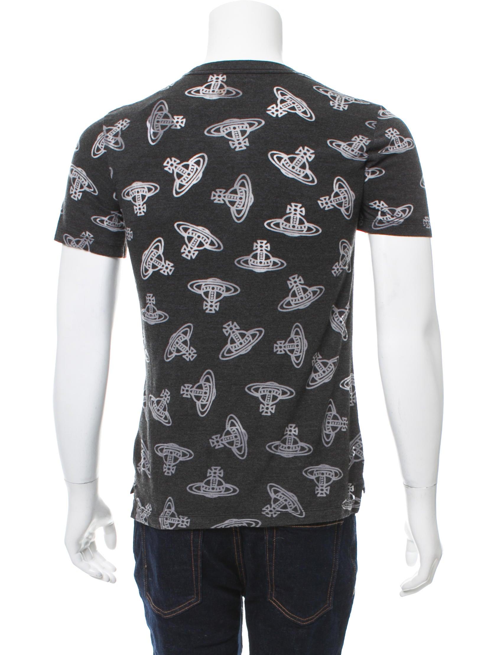 Vivienne westwood anglomania time machine print t shirt w for Machine to print shirts