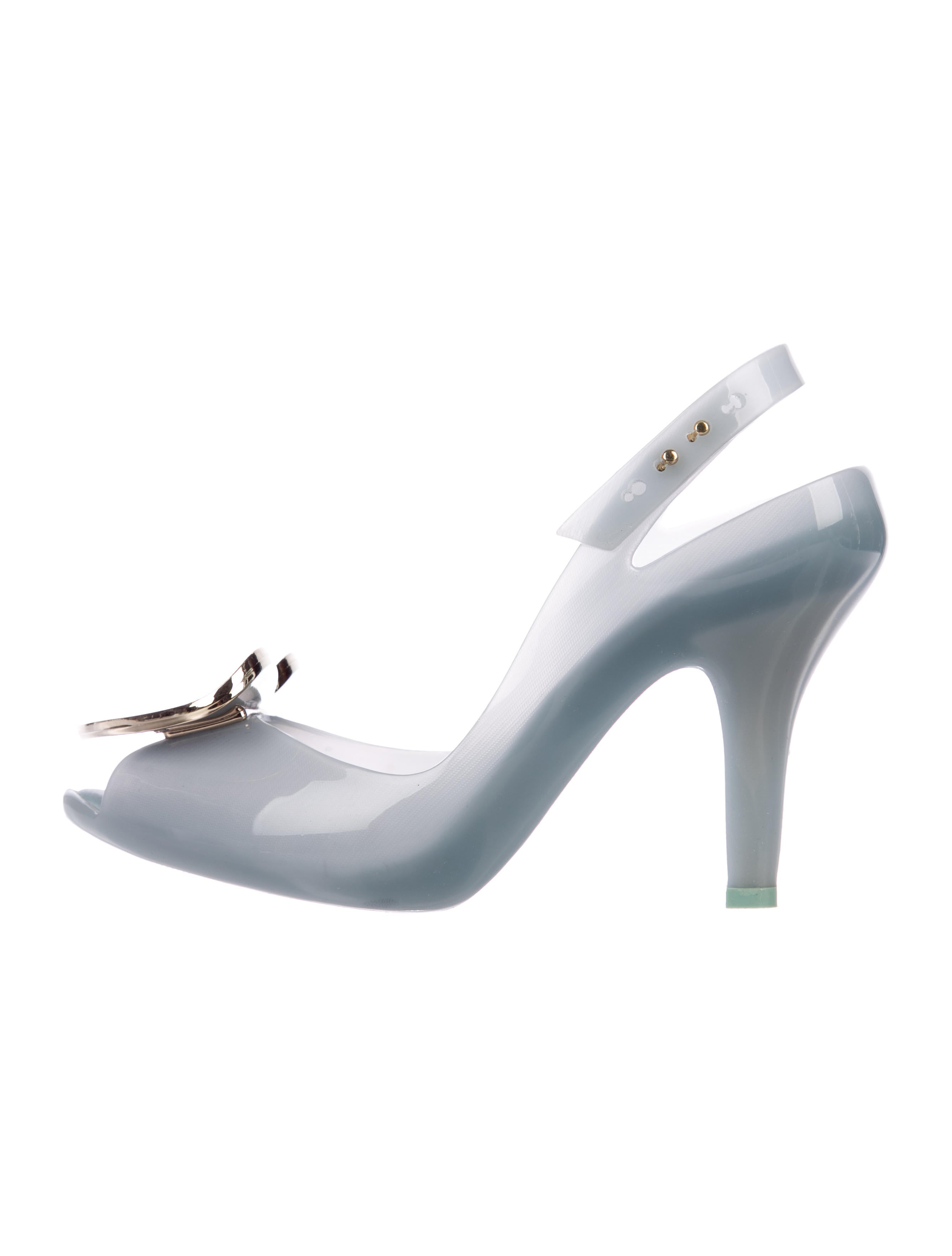 Vivienne Westwood Anglomania Peep-Toe Slingback Pumps outlet 2014 unisex countdown package online official rwWgmEu