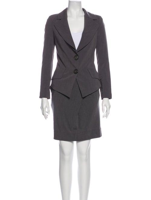 Vivienne Westwood Anglomania Skirt Suit Grey