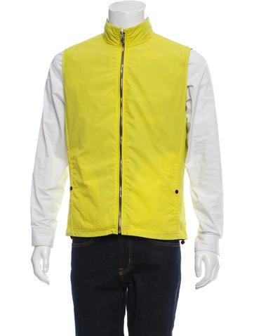 Victorinox Swiss Army Woven Zip-Up Vest None
