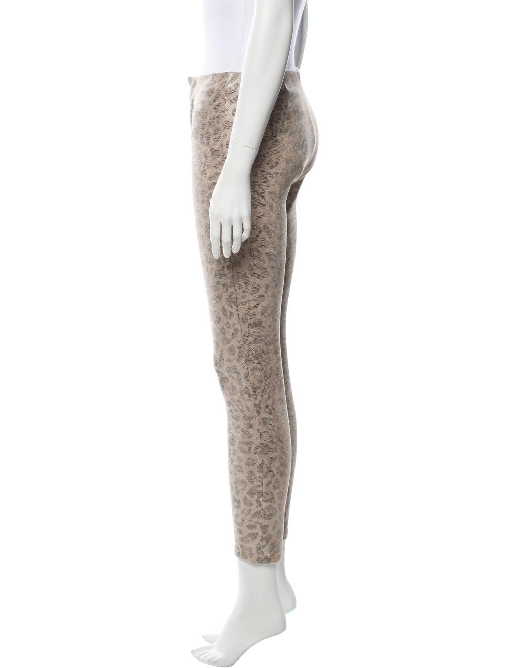 Mother Animal Print Skinny Leg Pants - image 2