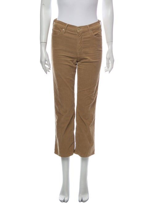 Mother mother Wide Leg Jeans Brown