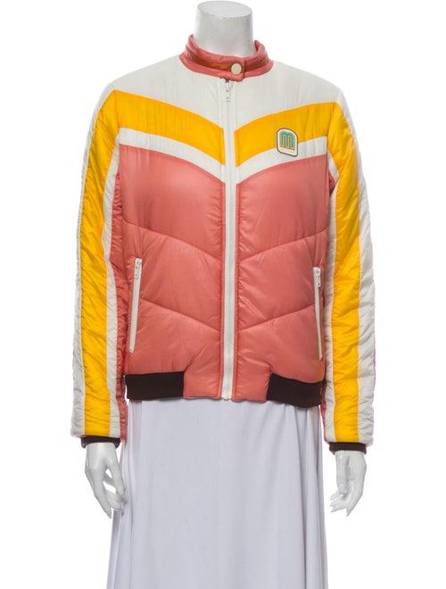 Mother Striped Jacket Pink