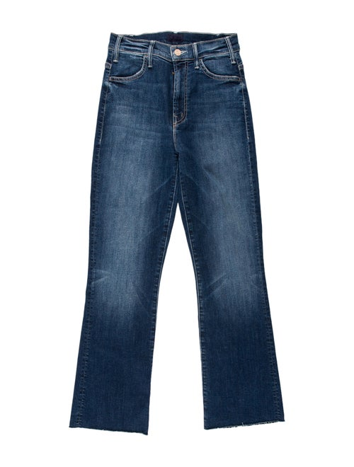 Mother High-Rise Straight Leg Jeans w/ Tags Blue