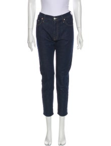 Mother Mid-Rise Straight Leg Jeans w/ Tags