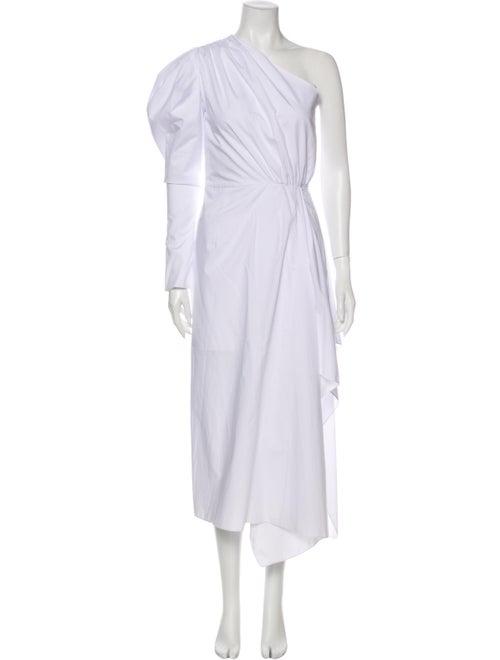 16Arlington One-Shoulder Midi Length Dress w/ Tags