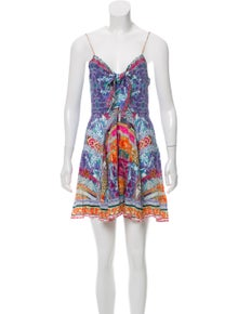 f852acc876b Camilla. Silk Printed Dress