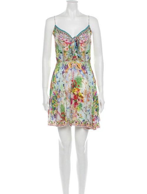 Camilla Silk Mini Dress