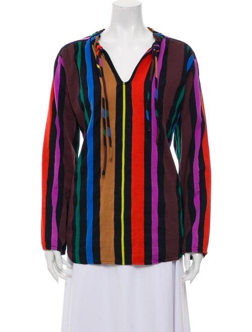 Ace & Jig Striped Long Sleeve Top Purple