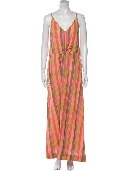 Ace & Jig Striped Long Dress w/ Tags Pink