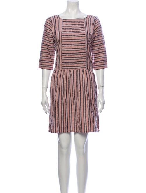 Ace & Jig Striped Mini Dress Pink