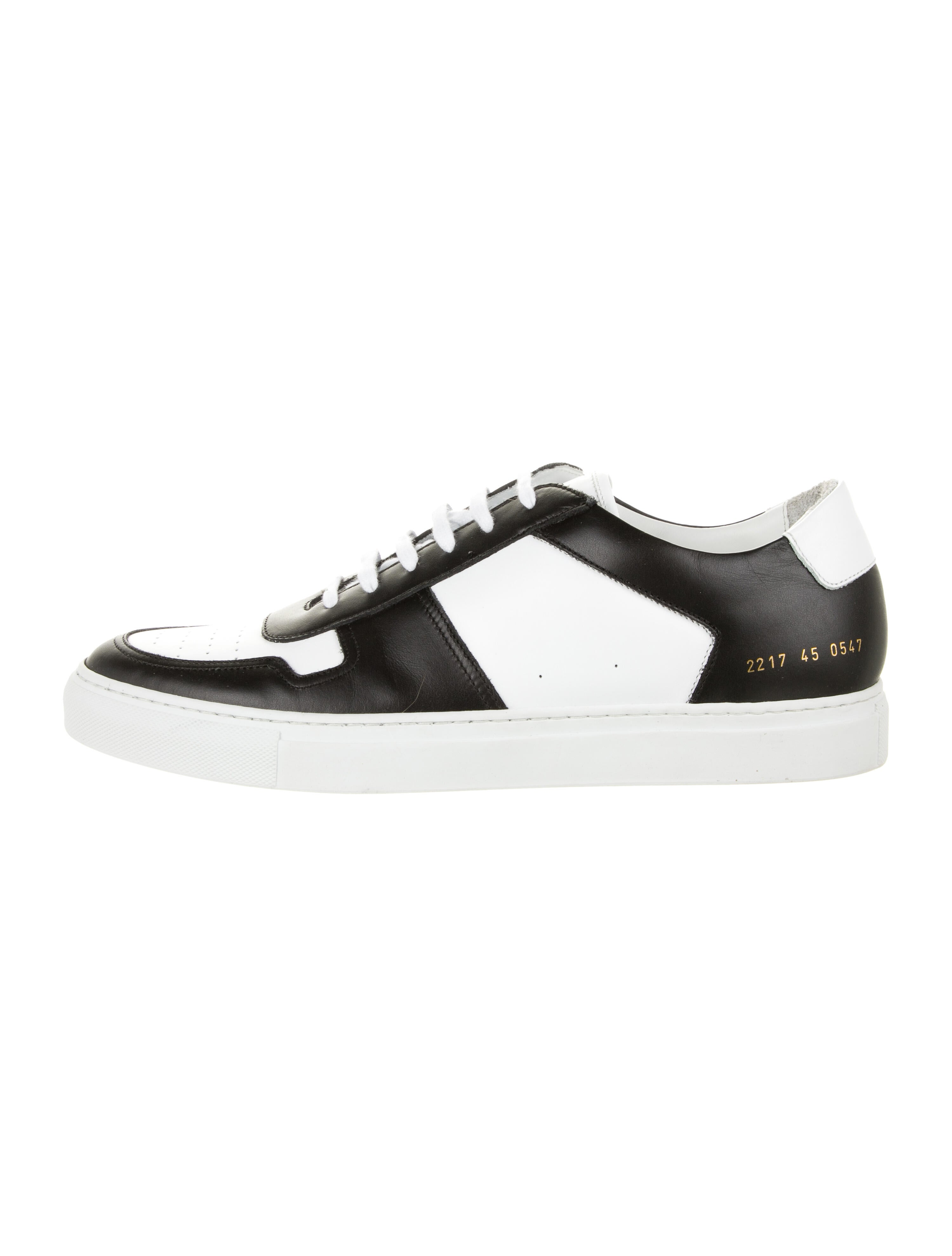 common projects bball low black