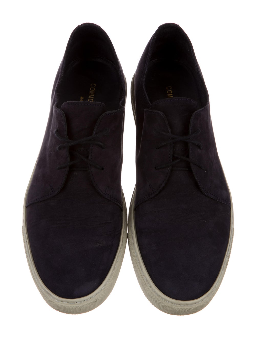 Common Projects Nubuck Sneakers Blue - image 3