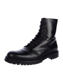 Common Projects Calfskin Combat Boots