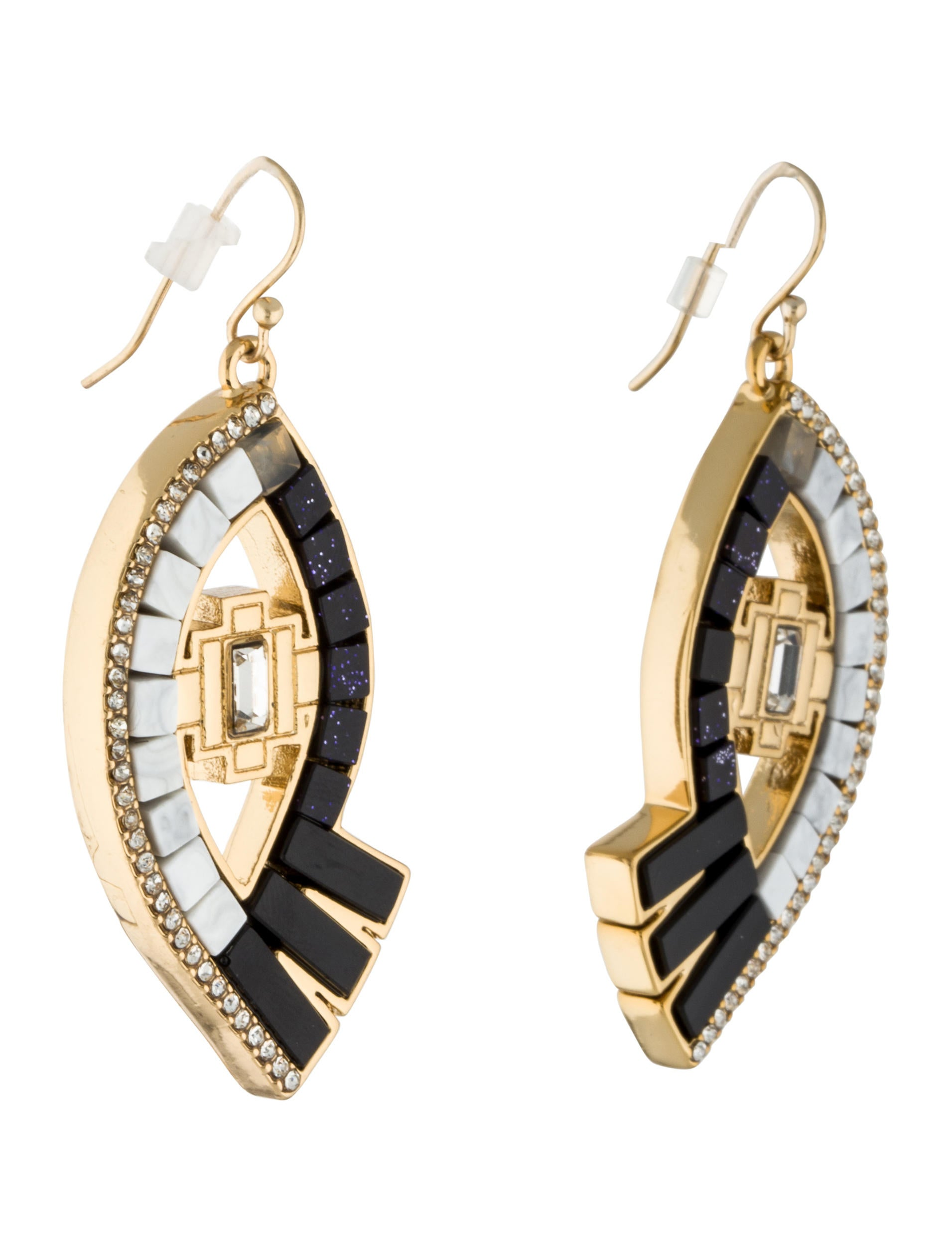 Lulu Frost Lumen Mosaic Eye Drop Earrings LclZJjU5Sq
