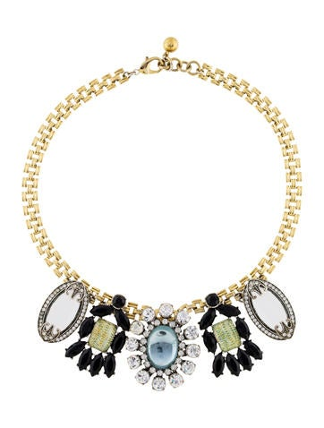 Lulu Frost Crystal & Glass Necklace None
