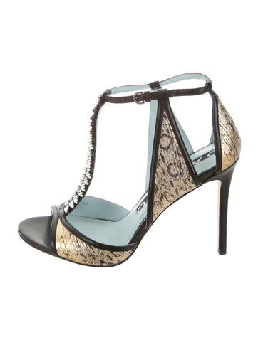 cheap outlet locations free shipping choice Dannijo Salma Embellished Sandals cheap get to buy footaction cheap price explore cheap online xQisI