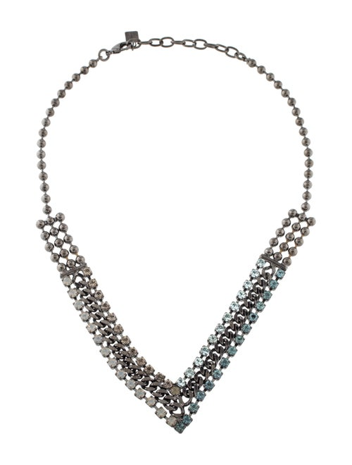 Dannijo Crystal Hallie Collar Necklace