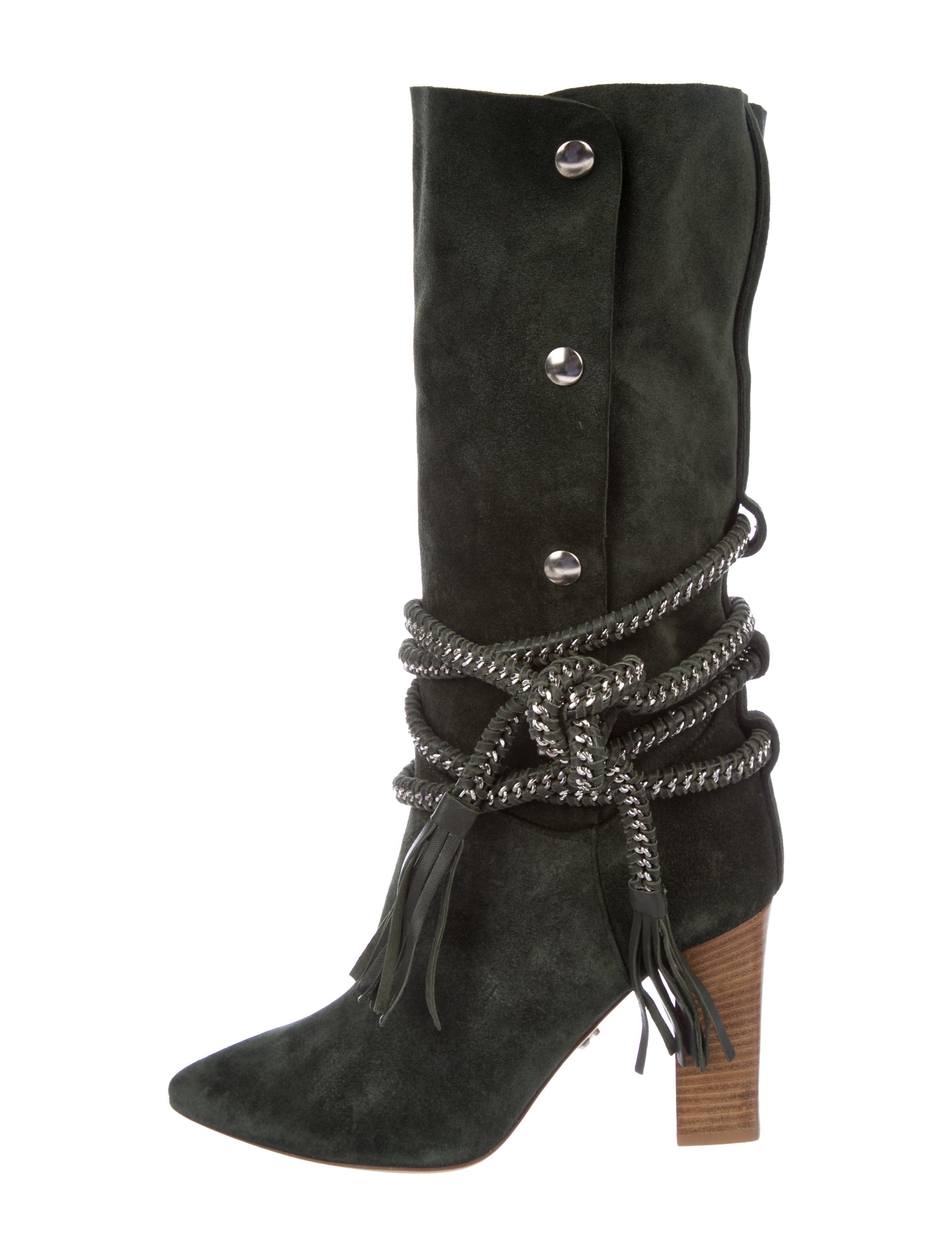 Monika Chiang Dionna Suede Boots w/ Tags free shipping cheap h7xo2zHvgg