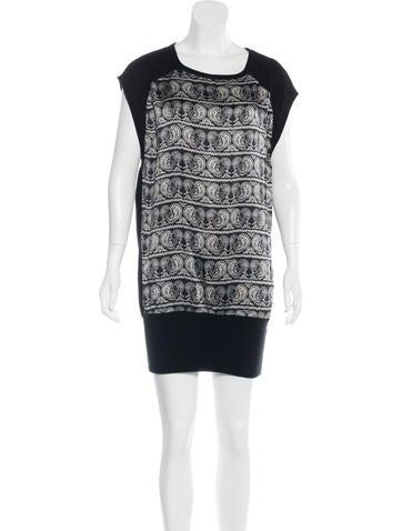 Pierre Balmain Silk Paisley Print Dress None